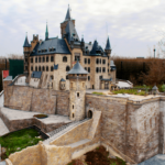 """Ein Modell des Schloss Wernigerode im Miniaturenpark """"Kleiner Harz"""" Wernigerode"""